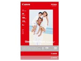 Papier fotograficzny CANON GP-501, 210 g/m2, A4, 100 szt-Canon