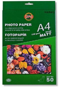 Papier fotograficzny, matowy, A4, 50 arkuszy-Koh-I-Noor