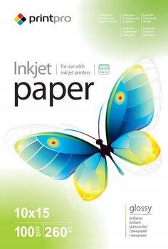 Papier Fotograficzny PrintPro Błyszczący 10x15 260g 100 szt-PrintPro