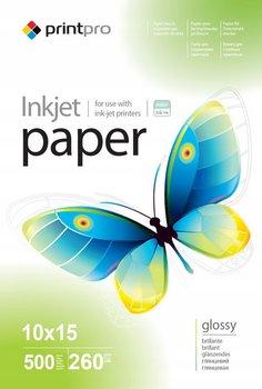 Papier Fotograficzny PrintPro Błyszczący 10x15 260g 500 szt-PrintPro