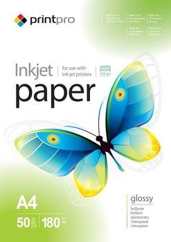 Papier Fotograficzny PrintPro Błyszczący A4 180g 50 szt-PrintPro