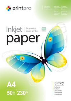 Papier Fotograficzny PrintPro Błyszczący A4 230g 50 szt-PrintPro