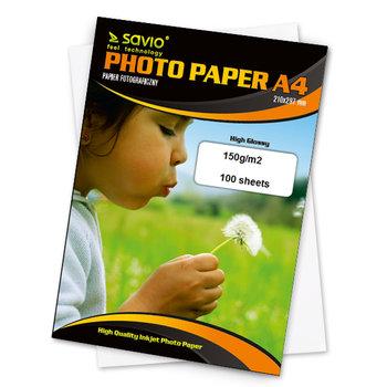 Papier fotograficzny SAVIO PA-14, 150 g/m2, A4, 100 szt-Elmak