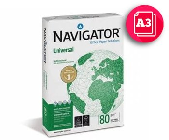 Papier ksero Navigator Universal, A3, 80 g/m2-Igepa