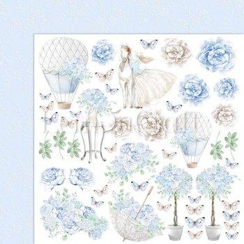 Papier ozdobny, 30x30 cm, Serenity 04-LemonCraft
