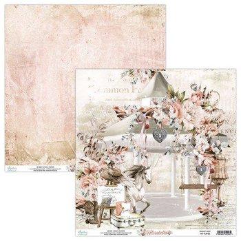 Papier ozdobny, Florabella 02, 30x30 cm-Mintay Papers