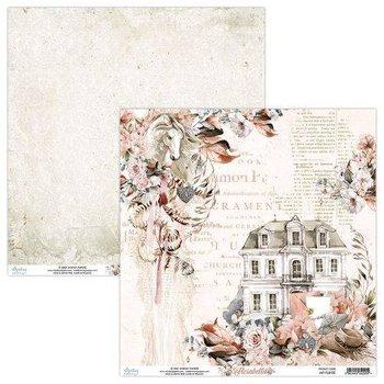 Papier ozdobny, Florabella 03, 30x30 cm-Mintay Papers