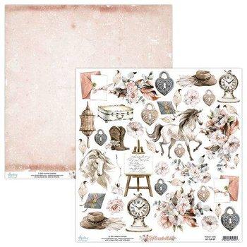 Papier ozdobny, Florabella 09, 30x30 cm-Mintay Papers