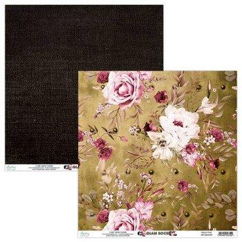Papier ozdobny, Glam Rock 04, 30x30 cm-Mintay Papers