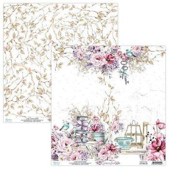 Papier ozdobny, Graceful 02, 30x30 cm-Mintay Papers