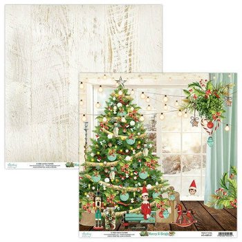 Papier ozdobny, Merry&Bright 01, 30x30 cm-Mintay Papers