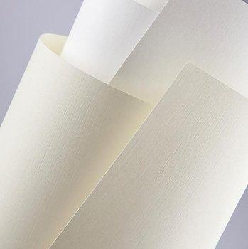 Papier ozdobny płótno kremowy, 120 g/m2, Galeria papieru-Galeria Papieru