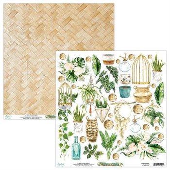 Papier ozdobny, Urban Jungle 09, 30x30 cm-Mintay Papers