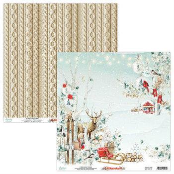 Papier ozdobny, Winterland 01, 30x30 cm-Mintay Papers