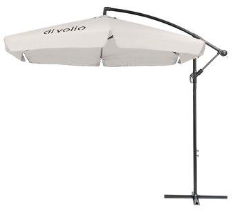 Parasol ogrodowy DIVOLIO Empoli, kremowy, 300 cm-DiVolio