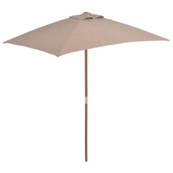 Parasol ogrodowy VIDAXL, brązowy, 150x200 cm-vidaXL