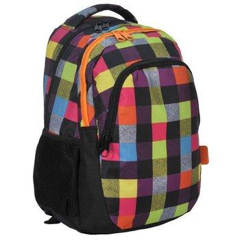 07332cbcd957f Paso, plecak młodzieżowy Kolorowa szachownica - Paso | Sklep EMPIK.COM