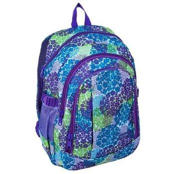 Paso, plecak młodzieżowy Zielone kwiaty-Paso