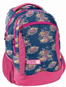Paso, plecak szkolny, róże-Paso