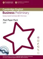 Past Paper Pack for Cambridge English Business Preliminary 2011 Exam Papers and Teacher's Booklet with Audio CD - Cambridge Esol