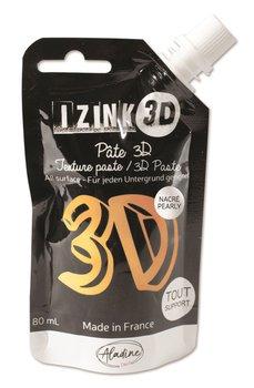 Pasta strukturalna 3D, metaliczna złota, 80 g-Aladine