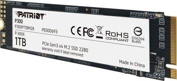 Patriot Dysk SSD P300 1TB M.2 PCIe Gen 3 x4 2100/1650-Patriot