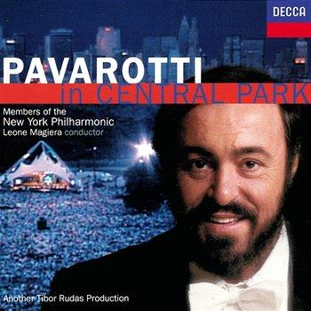 Pavarotti in Central Park-Luciano Pavarotti, Members Of The New York Philharmonic, Leone Magiera
