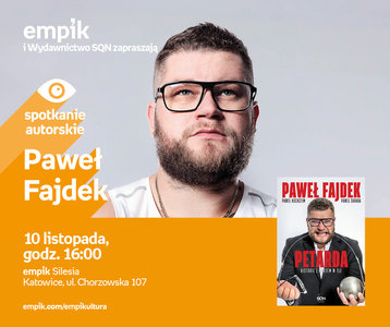 Paweł Fajdek | Empik Silesia