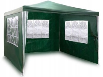 Pawilon ogrodowy PLONOS 4940, zielony, 2,45x3x3 m-Plonos