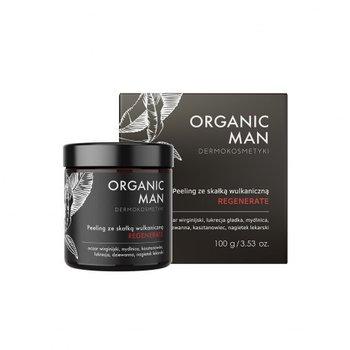 Peeling regenerujący ze skałką wulkaniczną Organic Man 100g-Organic Life