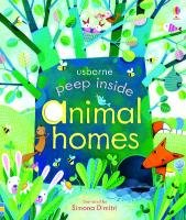 Peep Inside. Animal Homes-Milbourne Anna