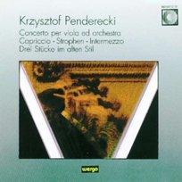Penderecki: Concerto Per Viola Ed Orchestra