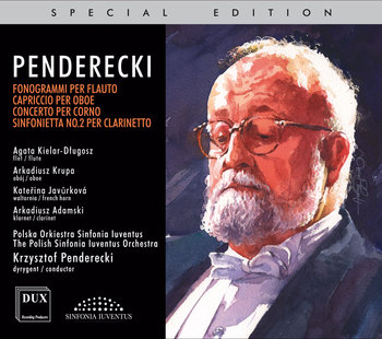 Penderecki: Concertos For Wind Instruments-Polska Orkiestra Sinfonia Iuventus, Kielar-Długosz Agata, Krupa Arkadiusz, Javůrková Kateřina, Adamski Arkadiusz