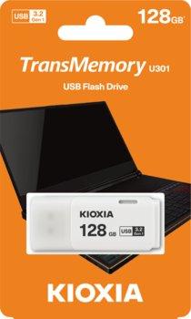 Pendrive 128GB USB 3.2 KIOXIA Hayabusa U301 White (38527630 )-KIOXIA