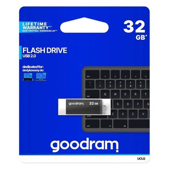 Pendrive 32GB USB 2.0 GOODRAM UCU2-0320K0R11 Black (25693607 )-GoodRam