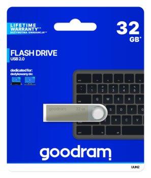 Pendrive 32GB USB 2.0 GOODRAM UUN2-0320S0R11 Silver (26227610 )-GoodRam