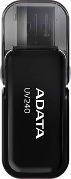 Pendrive ADATA UV240 AUV240-16G-RBK, 16 GB, USB 2.0-Adata