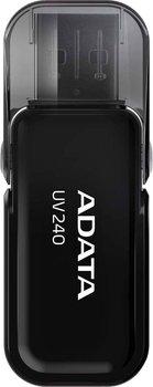 Pendrive ADATA UV240 AUV240-32G-RBK, 32 GB, USB 2.0-Adata