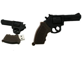 Pendrive DR.MEMORY Pistolet Rewolwer, 32 GB-Dr. Memory