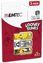 Pendrive EMTEC Looney Toons, 8 GB, USB 2.0