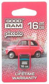 Pendrive GOODDRIVE 16GB USB 2.0 Piccolo black-GoodRam