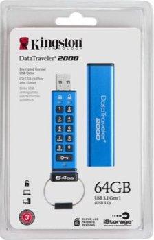 Pendrive Kingston DataTraveler 2000 64GB-Kingston