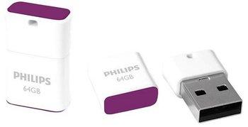 Pendrive PHILIPS Pico Edition, 64 GB, USB 2.0-Philips