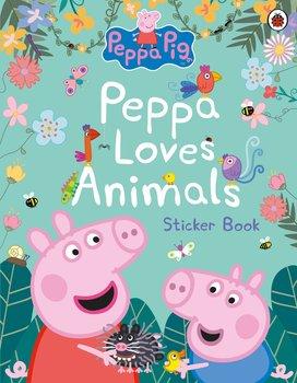Peppa Pig. Peppa Loves Animals-Opracowanie zbiorowe