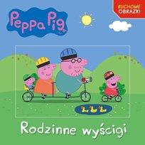 Peppa Pig Ruchome Obrazki Książka z Kartą 3D