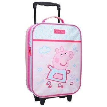 Peppa Pig, walizka na kółkach-Vadobag