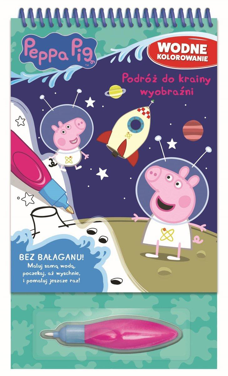 Peppa Pig Wodne Kolorowanie Podroz Do Krainy Wyobrazni Opracowanie Zbiorowe Ksiazka W Sklepie Empik Com