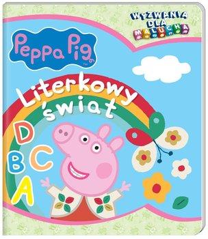 Peppa Pig. Wyzwania dla malucha. Literkowy świat-Opracowanie zbiorowe