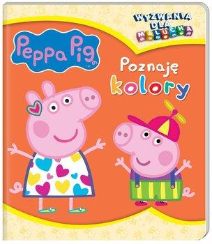 Peppa Pig. Wyzwania dla malucha. Poznaję kolory-Opracowanie zbiorowe
