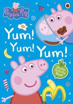 Peppa Pig Yum! Yum! Yum! Sticker Activity Book-Opracowanie zbiorowe